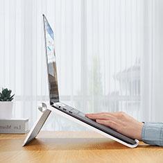 Supporto Computer Sostegnotile Notebook Universale K11 per Samsung Galaxy Book Flex 13.3 NP930QCG Argento