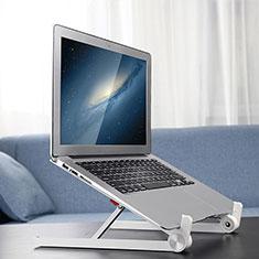 Supporto Computer Sostegnotile Notebook Universale K13 per Huawei MateBook D15 (2020) 15.6 Argento