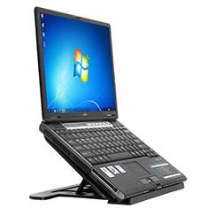 Supporto Computer Sostegnotile Notebook Universale S02 per Apple MacBook Air 11 pollici Nero