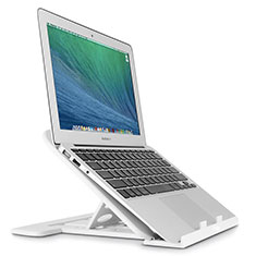 Supporto Computer Sostegnotile Notebook Universale S02 per Apple MacBook Air 13 pollici Argento