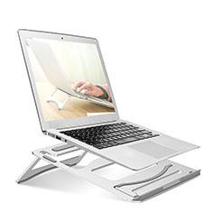 Supporto Computer Sostegnotile Notebook Universale S03 per Apple MacBook Air 11 pollici Argento