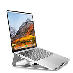 Supporto Computer Sostegnotile Notebook Universale S04 per Apple MacBook Air 13 pollici (2020) Argento