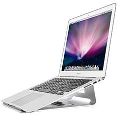 Supporto Computer Sostegnotile Notebook Universale S05 per Apple MacBook Air 13 pollici.3 (2018) Argento