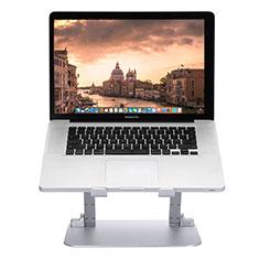 Supporto Computer Sostegnotile Notebook Universale S08 per Apple MacBook 12 pollici Argento