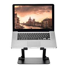 Supporto Computer Sostegnotile Notebook Universale S08 per Apple MacBook 12 pollici Nero