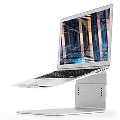 Supporto Computer Sostegnotile Notebook Universale S09 per Apple MacBook Air 13 pollici.3 (2018) Argento