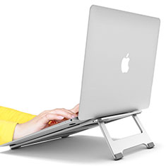 Supporto Computer Sostegnotile Notebook Universale S10 per Apple MacBook 12 pollici Argento