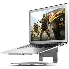Supporto Computer Sostegnotile Notebook Universale S16 per Apple MacBook 12 pollici Argento