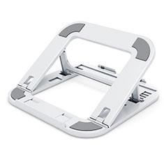 Supporto Computer Sostegnotile Notebook Universale T02 per Samsung Galaxy Book Flex 13.3 NP930QCG Bianco