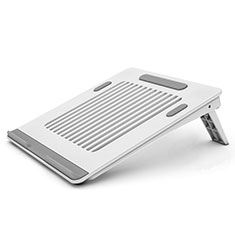 Supporto Computer Sostegnotile Notebook Universale T04 per Huawei Honor MagicBook 15 Bianco