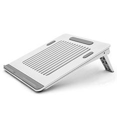 Supporto Computer Sostegnotile Notebook Universale T04 per Huawei MateBook X Pro (2020) 13.9 Bianco