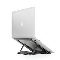 Supporto Computer Sostegnotile Notebook Universale T08 per Huawei Honor MagicBook 15 Nero