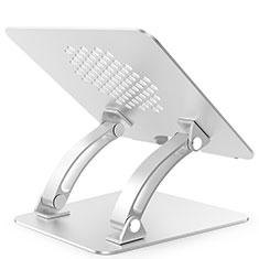 Supporto Computer Sostegnotile Notebook Universale T09 per Huawei MateBook 13 (2020) Argento