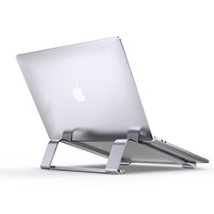 Supporto Computer Sostegnotile Notebook Universale T10 per Apple MacBook Air 13 pollici Argento