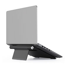 Supporto Computer Sostegnotile Notebook Universale T11 per Huawei Honor MagicBook 15 Nero