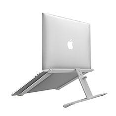 Supporto Computer Sostegnotile Notebook Universale T12 per Apple MacBook Air 13.3 pollici (2018) Argento