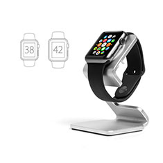 Supporto Di Ricarica Stand Docking Station C01 per Apple iWatch 3 38mm Argento