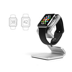 Supporto Di Ricarica Stand Docking Station C01 per Apple iWatch 5 44mm Argento