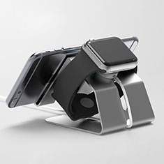 Supporto Di Ricarica Stand Docking Station C03 per Apple iWatch 4 44mm Nero