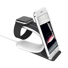 Supporto Di Ricarica Stand Docking Station C05 per Apple iWatch 4 44mm Argento