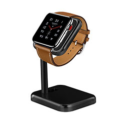 Supporto Di Ricarica Stand Docking Station per Apple iWatch 3 38mm Nero