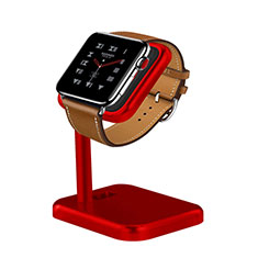 Supporto Di Ricarica Stand Docking Station per Apple iWatch 4 44mm Rosso