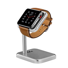 Supporto Di Ricarica Stand Docking Station per Apple iWatch 5 44mm Argento