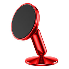 Supporto Magnetico Smartphone Da Auto Universale S01 per Apple iPhone 11 Pro Rosso