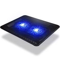 Supporto per Latpop Sostegnotile Notebook Ventola Raffreddamiento Stand USB Dissipatore Da 9 a 14 Pollici Universale S01 per Apple MacBook 12 pollici Nero