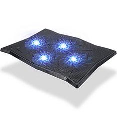 Supporto per Latpop Sostegnotile Notebook Ventola Raffreddamiento Stand USB Dissipatore Da 9 a 16 Pollici Universale M08 per Apple MacBook Air 13 pollici (2020) Nero