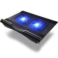 Supporto per Latpop Sostegnotile Notebook Ventola Raffreddamiento Stand USB Dissipatore Da 9 a 16 Pollici Universale M10 per Apple MacBook Air 13 pollici (2020) Nero