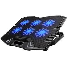 Supporto per Latpop Sostegnotile Notebook Ventola Raffreddamiento Stand USB Dissipatore Da 9 a 16 Pollici Universale M15 per Apple MacBook Air 13 pollici (2020) Nero