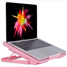 Supporto per Latpop Sostegnotile Notebook Ventola Raffreddamiento Stand USB Dissipatore Da 9 a 16 Pollici Universale M16 per Apple MacBook Air 13 pollici (2020) Rosa