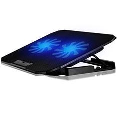 Supporto per Latpop Sostegnotile Notebook Ventola Raffreddamiento Stand USB Dissipatore Da 9 a 16 Pollici Universale M17 per Apple MacBook Air 13 pollici.3 (2018) Nero