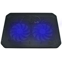 Supporto per Latpop Sostegnotile Notebook Ventola Raffreddamiento Stand USB Dissipatore Da 9 a 16 Pollici Universale M20 per Apple MacBook Pro 15 pollici Retina Nero