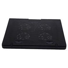 Supporto per Latpop Sostegnotile Notebook Ventola Raffreddamiento Stand USB Dissipatore Da 9 a 16 Pollici Universale M22 per Apple MacBook Air 13 pollici (2020) Nero