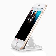 Supporto Smartphone Sostegno Cellulari Universale T09 Bianco