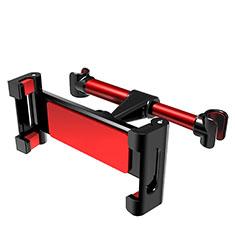 Supporto Sostegno Auto Sedile Posteriore Universale B01 per Apple iPhone 11 Pro Rosso