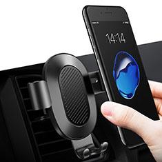 Supporto Sostegno Cellulari Bocchette Aria Da Auto Bocchette Aria Universale Nero