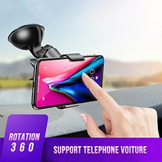 Supporto Sostegno Cellulari Con Ventosa Da Auto Universale H07 per LG K62 Nero