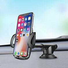 Supporto Sostegno Cellulari Con Ventosa Da Auto Universale H11 per LG K62 Argento