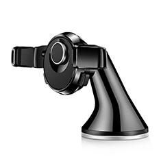 Supporto Sostegno Cellulari Con Ventosa Da Auto Universale H14 Nero