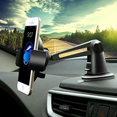 Supporto Sostegno Cellulari Con Ventosa Da Auto Universale H16 Nero