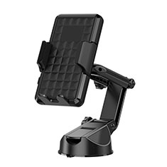 Supporto Sostegno Cellulari Con Ventosa Da Auto Universale H17 Nero