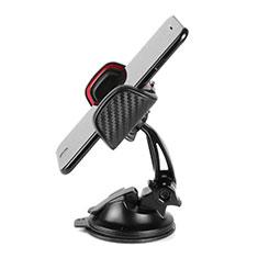 Supporto Sostegno Cellulari Con Ventosa Da Auto Universale H18 per Xiaomi Mi 9T Pro Nero