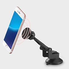 Supporto Sostegno Cellulari Con Ventosa Da Auto Universale H19 per LG K62 Nero