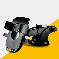 Supporto Sostegno Cellulari Con Ventosa Da Auto Universale H20 per LG K62 Nero