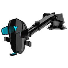 Supporto Sostegno Cellulari Con Ventosa Da Auto Universale H21 per LG K62 Nero