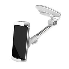 Supporto Sostegno Cellulari Con Ventosa Da Auto Universale H22 per LG K62 Argento