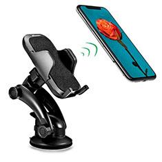 Supporto Sostegno Cellulari Con Ventosa Da Auto Universale H23 per LG K62 Nero